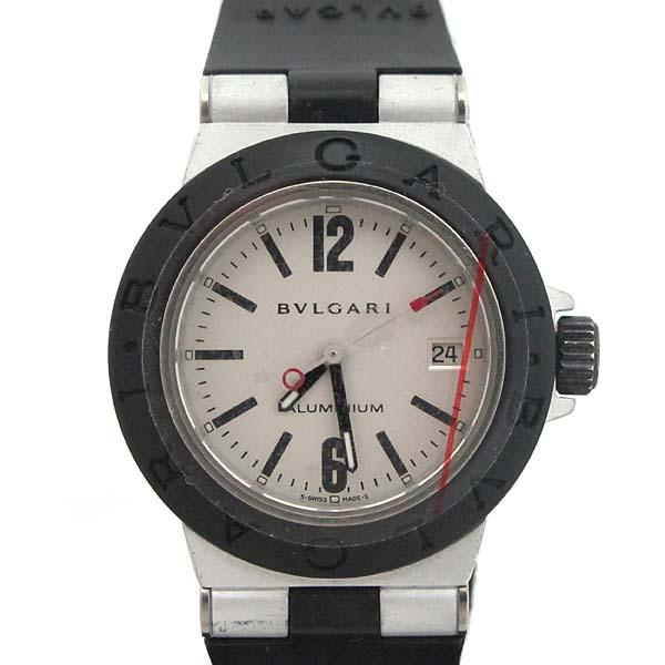 Bvlgari(불가리) AL29TA DIAGONO (디아고노) ALUMINIUM (알루미늄) 러버밴드 여성용 시계 [인천점] 이미지2 - 고이비토 중고명품