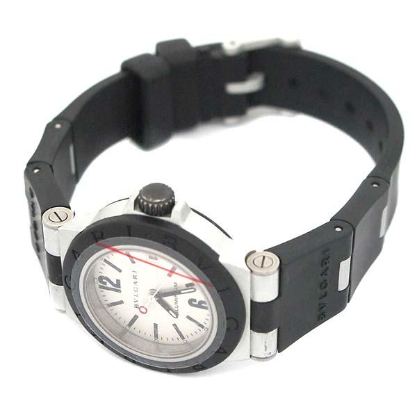 Bvlgari(불가리) AL29TA DIAGONO (디아고노) ALUMINIUM (알루미늄) 러버밴드 여성용 시계 [인천점] 이미지3 - 고이비토 중고명품