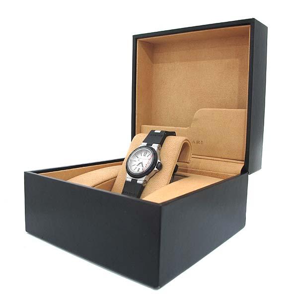 Bvlgari(불가리) AL29TA DIAGONO (디아고노) ALUMINIUM (알루미늄) 러버밴드 여성용 시계 [인천점] 이미지5 - 고이비토 중고명품