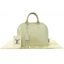Louis Vuitton(루이비통) M91445 모노그램 베르니 블랑코레일 알마 NM 토트백 [강남본점]