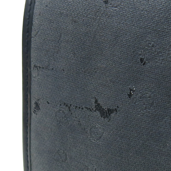 Aigner(아이그너) 금장 로고 장식 스퀘어 백팩 이미지5 - 고이비토 중고명품