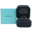 Tiffany(티파니) 18K 핑크 골드 솔리스트 20포인트 다이아 2MM 반지 [강남본점]