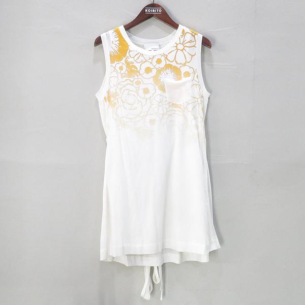 3.1 PHILLIP LIM(필립림) 옐로우 아이보리 플라워 코튼 드레스 [부산센텀본점]