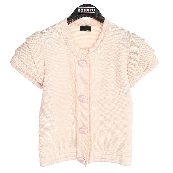 Fendi(펜디) 핑크 컬러 코튼 여성용 니트 [동대문점]