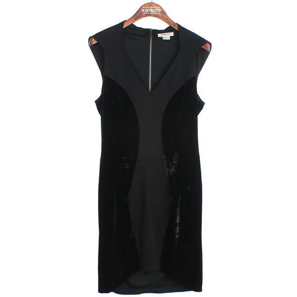 helmutlang(헬무트랭) 블랙 컬러 여성용 나시 원피스 [강남본점]