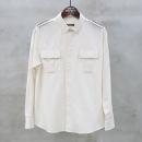 Balmain(발망) 아이보리 컬러 견장 디테일 더블 포켓 남성용 셔츠 [동대문점]