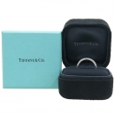 Tiffany(티파니) PT950 플래티늄 골드 밀그레인 3MM 여성용 반지 - 6호 [강남본점]