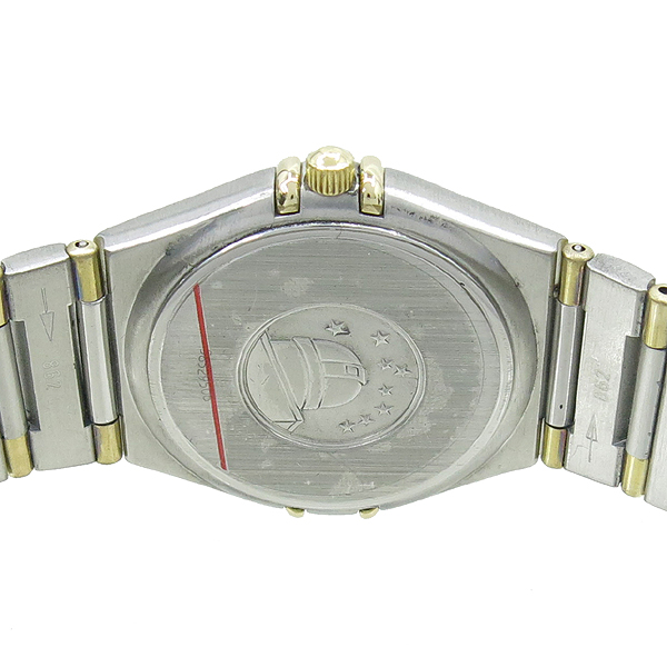 Omega(오메가) 1312.30 18K 콤비 컨스틸레이션 하프바 화이트판 남성용 시계 [강남본점]