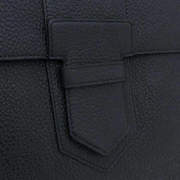 DELVAUX(델보) PRESSE  블랙 컬러 레더 클러치 [강남본점] 이미지4 - 고이비토 중고명품