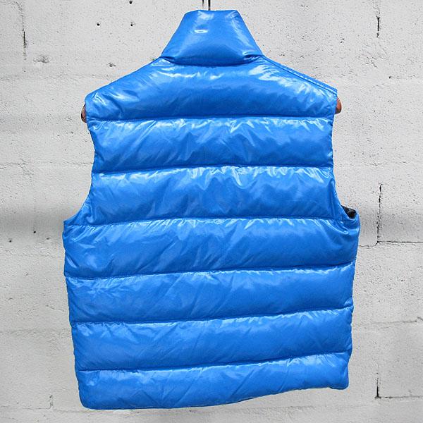 MONCLER(몽클레어) TIB GILET 블루 컬러 남성용 패딩 베스트 [동대문점] 이미지3 - 고이비토 중고명품