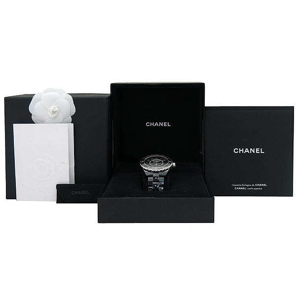 Chanel(샤넬) H2980 J12 블랙 세라믹 42MM 오토매틱 남성용 시계 [부산서면롯데점]