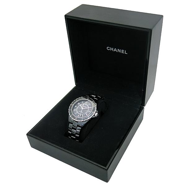 Chanel(샤넬) H2980 J12 블랙 세라믹 42MM 오토매틱 남성용 시계 [부산서면롯데점] 이미지2 - 고이비토 중고명품