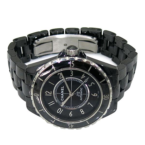 Chanel(샤넬) H2980 J12 블랙 세라믹 42MM 오토매틱 남성용 시계 [부산서면롯데점] 이미지4 - 고이비토 중고명품