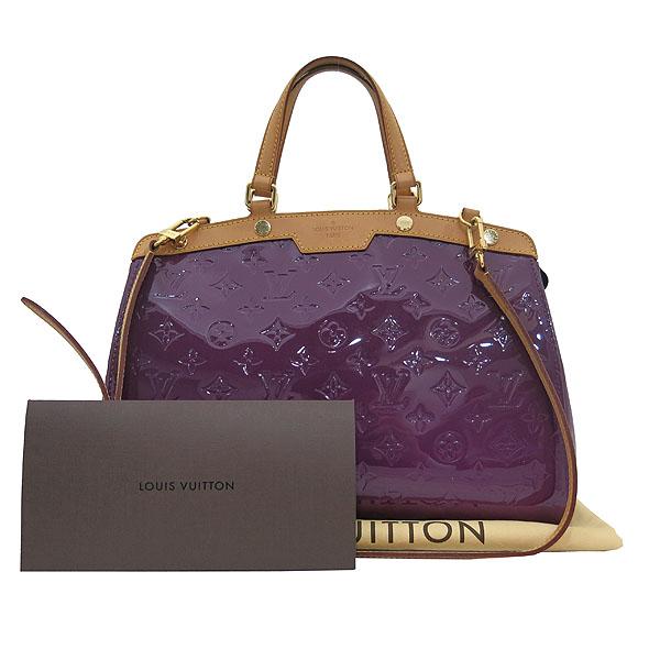 Louis Vuitton(루이비통) M90106 모노그램 베르니 AMETHYSTE(아메시스트) 컬러 브레아 MM 2WAY [대전본점]