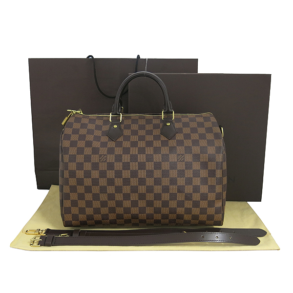 Louis Vuitton(루이비통) N41366 다미에 에벤 캔버스 신형 반둘리에 스피디 35 토트백+숄더스트랩 [동대문점]