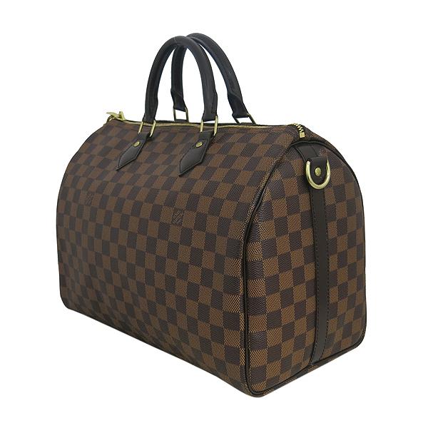 Louis Vuitton(루이비통) N41366 다미에 에벤 캔버스 신형 반둘리에 스피디 35 토트백+숄더스트랩 [동대문점] 이미지3 - 고이비토 중고명품