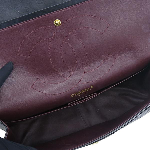 Chanel(샤넬) A37590Y04634 빈티지 블랙 2.55 L사이즈 금장로고 체인 숄더백 [대구반월당본점] 이미지6 - 고이비토 중고명품