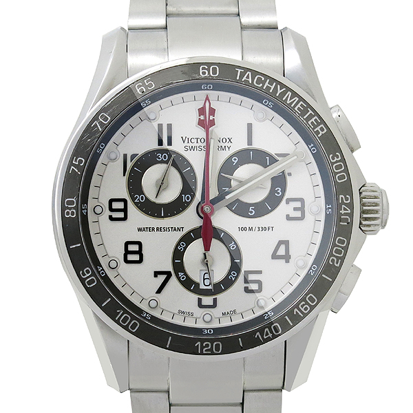 VICTORINOX(빅토리녹스) V251121 크로노 그래프 스틸 남성용 시계 [강남본점]