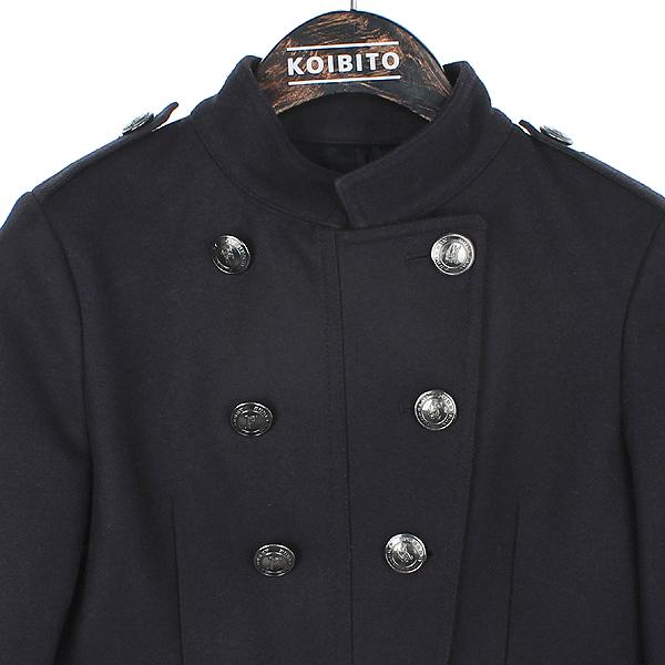 Burberry(버버리) 칠드런 캐시미어혼방 견장 더블 코트 [부산센텀본점] 이미지2 - 고이비토 중고명품