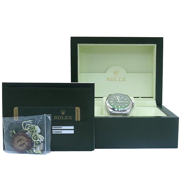Rolex(로렉스) 116400GV MILGAUSS (1000가우스 / 밀가우스) 스틸 오토매틱 남성용 시계 [부산센텀본점]