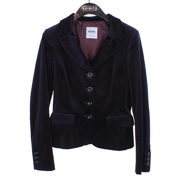 Moschino(모스키노) 퍼플 컬러 벨벳 여성용 자켓 [강남본점]
