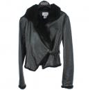 Armani(아르마니) 100% 블랙 레더 여성용 자켓 [동대문점]