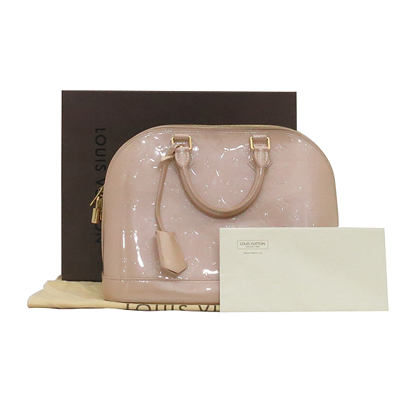 Louis Vuitton(루이비통) M91614 모노그램 플로랑탱 베르니 알마PM  토트백 [부산서면롯데점]