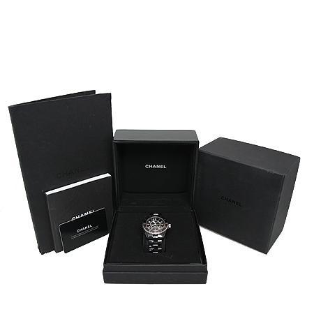 Chanel(샤넬) H0685 J12 매트블랙 세라믹 38MM 남성용 시계[광주롯데점] 이미지2 - 고이비토 중고명품