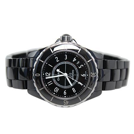 Chanel(샤넬) H0685 J12 매트블랙 세라믹 38MM 남성용 시계[광주롯데점] 이미지4 - 고이비토 중고명품