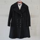 Marc By Marc Jacobs(마크바이마크제이콥스) 블랙 컬러 와이드 라펠 여성용 더블 코트 [동대문점]