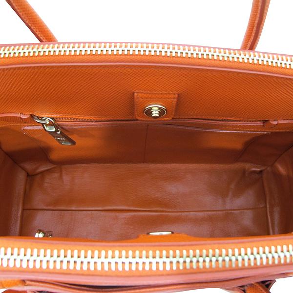 Prada(프라다) BN2569 오렌지 컬러 사피아노 2WAY [인천점] 이미지4 - 고이비토 중고명품