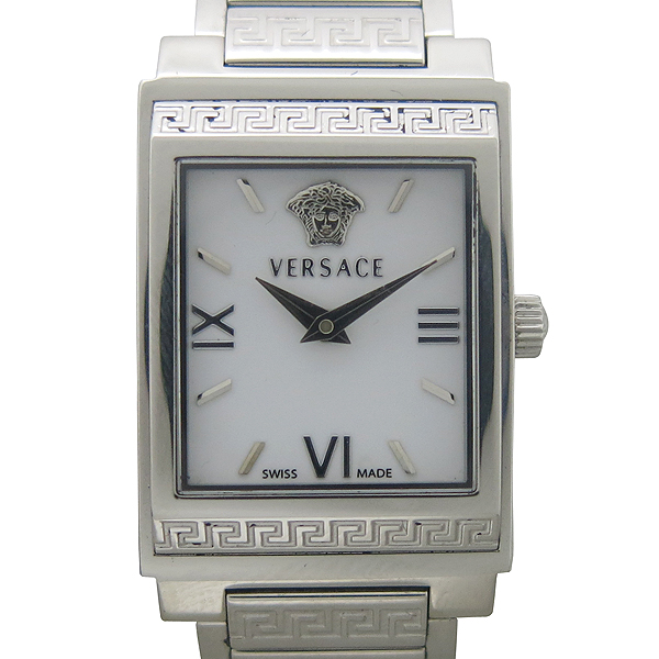 Versace(베르사체) ISQ99 사각 프레임 스틸 여성용 시계 [동대문점]