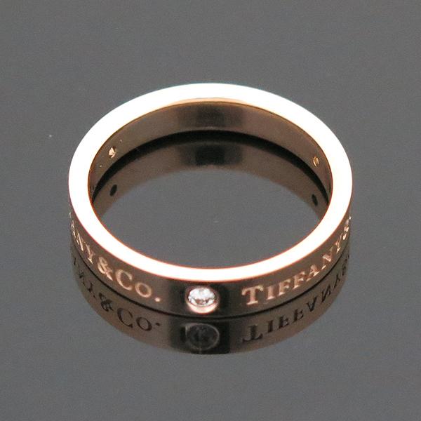 Tiffany(티파니) 18K(750) 핑크골드 TIFFANY & CO. 3포인트 다이아 브릴리언트 반지 - 14.5호 [부산센텀본점] 이미지3 - 고이비토 중고명품