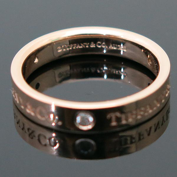 Tiffany(티파니) 18K(750) 핑크골드 TIFFANY & CO. 3포인트 다이아 브릴리언트 반지 - 14.5호 [부산센텀본점] 이미지4 - 고이비토 중고명품