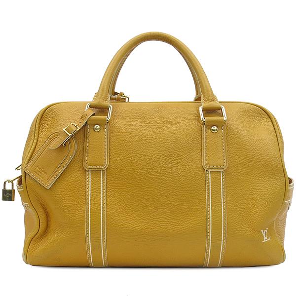 Louis Vuitton(루이비통) M95138 한정판 토바고 옐로우 레더 캐리올 토트백 [강남본점]