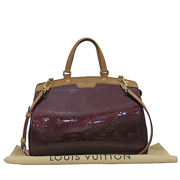 Louis Vuitton(루이비통) M91690 모노그램 베르니 라우지 포비스트 브레아 MM 토트백 + 숄더백 2WAY [부산서면롯데점]