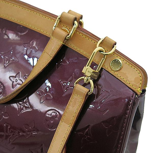 Louis Vuitton(루이비통) M91690 모노그램 베르니 라우지 포비스트 브레아 MM 토트백 + 숄더백 2WAY [부산서면롯데점] 이미지5 - 고이비토 중고명품