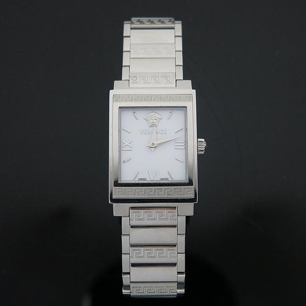 Versace(베르사체) ISQ99 사각 프레임 스틸 여성용 시계 [부산센텀본점]