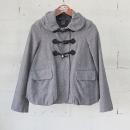 Marc_by Marc Jacobs(마크바이마크제이콥스) 그레이 더블 버튼 여성용 더플 버블 자켓 [동대문점]