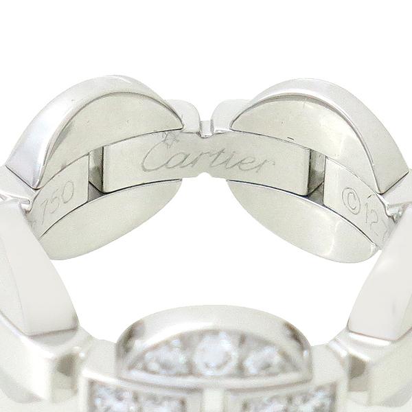 Cartier(까르띠에) 18K 화이트골드 Imaria 10포인트 다이아 반지 - 11호 [강남본점] 이미지3 - 고이비토 중고명품
