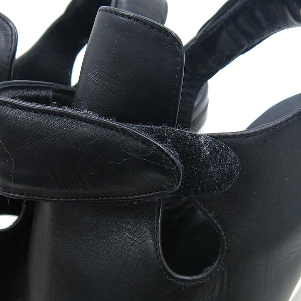 Balenciaga(발렌시아가) 214986 블랙 레더 하이힐 여성용 구두 [강남본점] 이미지4 - 고이비토 중고명품