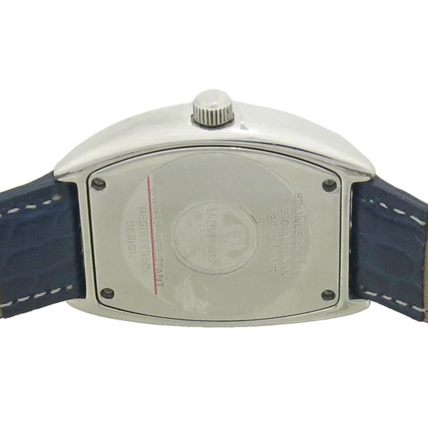 LANCASTER(랑캐스터) 92포인트 다이아(1.26ct) 베젤 가죽 밴드 자개판 시계