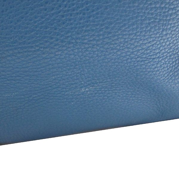 Prada(프라다) BN1713 VIT.DAINO 소프트카프스킨 COBALTO 레더 금장 로고 토트백  [대구동성로점]