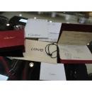 Cartier(까르띠에) B6040100 18k 화이트골드 블랙 세라믹 실크 팔찌 w
