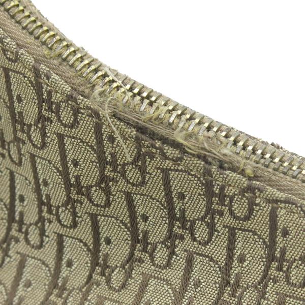 Dior(크리스챤디올) 금장 로고 장식 로고 쟈가드 호보 숄더백