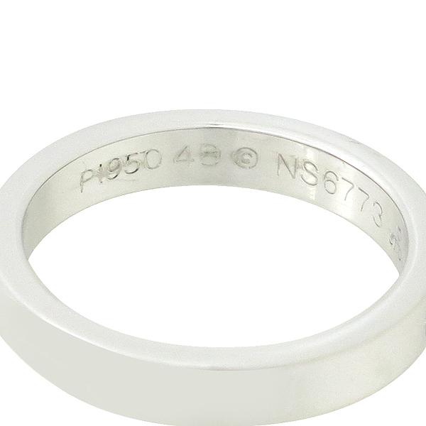Cartier(까르띠에) B40513 PT950 플래티늄골드 1포인트 다이아 인그레이빙 클래식 웨딩밴드 반지 - 8호 [대구반월당본점] 이미지2 - 고이비토 중고명품