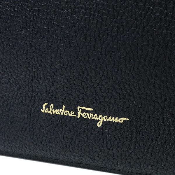 Ferragamo(페라가모) 21 F215 로고 장식 블랙 컬러 숄더백 [강남본점] 이미지4 - 고이비토 중고명품