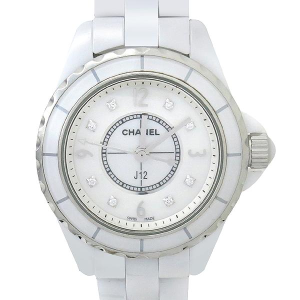 Chanel(샤넬) H2570 J12 8포인트 다이아 자개판 쿼츠 여성용 시계 [강남본점] 이미지2 - 고이비토 중고명품