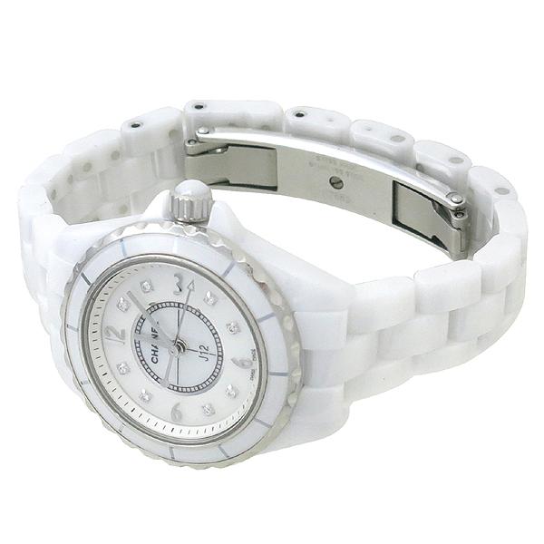 Chanel(샤넬) H2570 J12 8포인트 다이아 자개판 쿼츠 여성용 시계 [강남본점] 이미지3 - 고이비토 중고명품