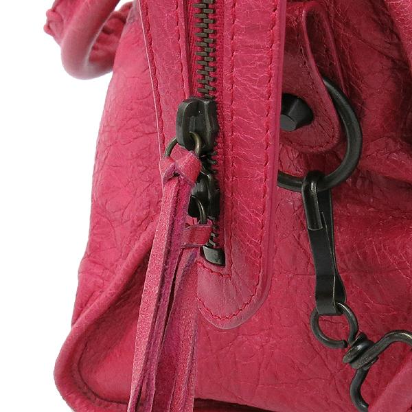 Balenciaga(발렌시아가) 168028 빈티지 램스킨 핑크 클래식 파트타임 모터 토트백 + 숄더스트랩 2WAY [대구반월당본점] 이미지5 - 고이비토 중고명품